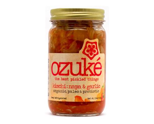 kimchi: napa & garlic product photo
